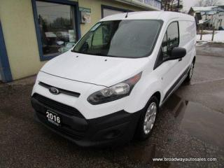 Used 2016 Ford Transit Connect CARGO MOVING XL EDITION 2 PASSENGER 2.5L - DOHC.. MIDDLE DIVIDER.. IN-CARGO SHELVING.. SLIDING PASSENGER DOOR.. AIR CONDITIONING.. BLUETOOTH.. for sale in Bradford, ON