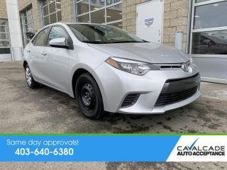 Used 2016 Toyota Corolla for sale in Calgary, AB