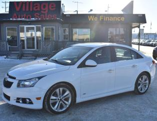 Used 2013 Chevrolet Cruze LTZ Turbo SUNROOF! BACK UP CAMERA! CRUISE CONTROL! for sale in Saskatoon, SK