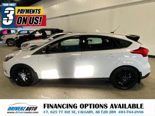 Used 2018 Ford Focus SEL NAV, HEATED SEATS AND WHEEL, AND MORE! for sale in Calgary, AB