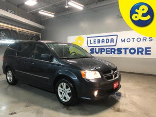 Used 2014 Dodge Grand Caravan Crew * 2nd Row Power Windows Power Quarter Vented Windows* Cruise Control * Steering Wheel Controls * Dual Climate Control * Rear Heat * Power Driver for sale in Cambridge, ON