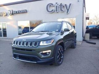 New 2021 Jeep Compass Limited 4x4 | LOADED | Sun Roof | #181 for sale in Medicine Hat, AB