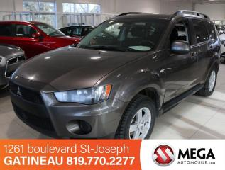 Used 2010 Mitsubishi Outlander ES for sale in Gatineau, QC