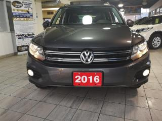 Used 2016 Volkswagen Tiguan Comfortline - 4Motion - Leather - Pano Roof - No Accidents - SUPER clean - LOW km for sale in North York, ON