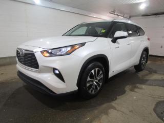 New 2021 Toyota Highlander HYBRID XLE for sale in Regina, SK
