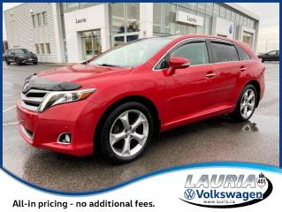 Used 2015 Toyota Venza V6 Limited AWD - LOADED for sale in PORT HOPE, ON