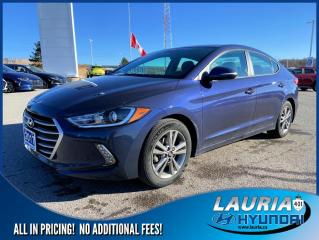 Used 2017 Hyundai Elantra GL Auto - Low kms for sale in Port Hope, ON