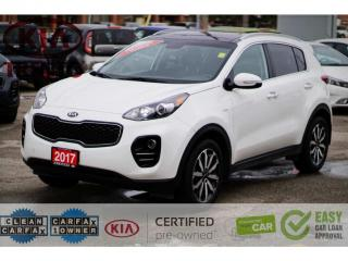 Used 2017 Kia Sportage EX Premium AWD|LEATHER|PANOROOF|BLINDSPOT|LOW KM for sale in North York, ON