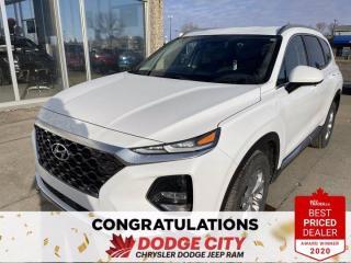 Used 2020 Hyundai Santa Fe Essential-AWD,Htd. Seats & Wheel, B/U Camera for sale in Saskatoon, SK