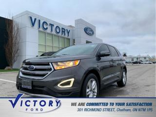 Used 2017 Ford Edge SEL| NAV| ROOF| HEATED SEATS| HEATED WHEEL for sale in Chatham, ON
