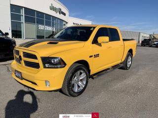 Used 2016 RAM 1500 4WD Crew Cab 140.5  Sport for sale in Chatham, ON