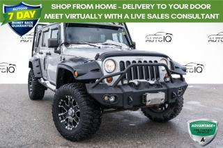 Used 2012 Jeep Wrangler Unlimited Sahara **SITS PROUD!!! SARAHA EDITION!!! LIFTED!!! WINCH!!! for sale in Barrie, ON