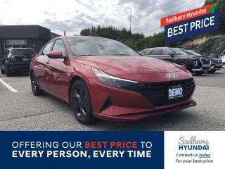 New 2021 Hyundai Elantra Preferred w/Sun & Safety Package for sale in Sudbury, ON