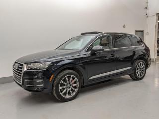 Used 2017 Audi Q7 TECHNIK/VENTILATED SEATS/ACTIVE LANE ASSIST/BLIND SPOT ASSIST! for sale in Toronto, ON