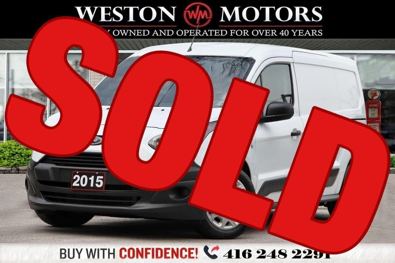 2015 Ford Transit Connect XL*4CYL*DUAL SLIDING DOORS*REVERSE CAMERA*SHELVING