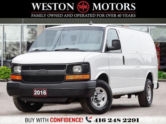 2016 Chevrolet Express 2500 8CYL*SIDE&REAR WINDOWS*PWR GRP!!*