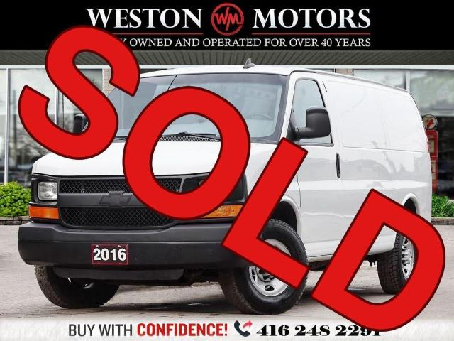 2016 Chevrolet Express 2500 8CYL*SIDE&REAR WINDOWS*POWER GROUP