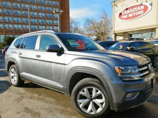 Used 2018 Volkswagen Atlas Atlas CLEAN CARFAX | NAVI| CAM| PANO | 4 NEW SNOW TIRES* for sale in Scarborough, ON