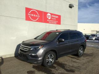 Used 2017 Honda Pilot EX-L / Touch Screen / Keyless Entry / Rear DVD for sale in Edmonton, AB