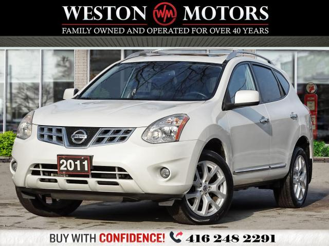 2011 Nissan Rogue SV*AWD*5PASS*NAVI*LEATHER*SUNROOF*REVCAM*