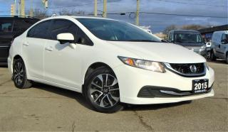 Used 2015 Honda Civic 4dr Auto EX SIDE CAM B-CAMERA SUNROOF SAFETY REMOT for sale in Oakville, ON