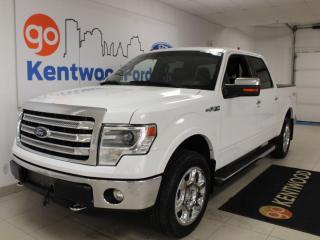 Used 2013 Ford F-150 Lariat | 502a | Chrome Pkg | NAV | Leather | One Owner | Clean for sale in Edmonton, AB