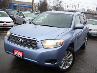 Used 2008 Toyota Highlander Hybrid $250 cash back offer on all our financing program, for sale in Kitchener, ON