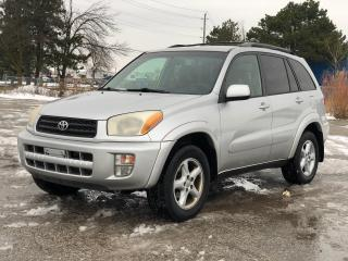 Used 2001 Toyota RAV4 AWD|Clean Carfax|Power windows-locks| for sale in Bolton, ON