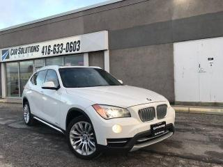 Used 2014 BMW X1 NAVI-SUNROOF-LEATHER for sale in Toronto, ON