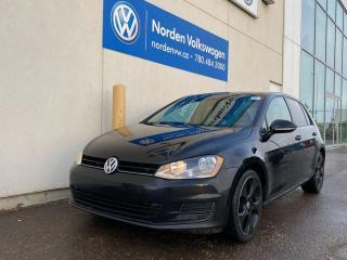 Used 2016 Volkswagen Golf TRENDLINE 5 DR AUTO - HEATED SEATS / CERTIFIED for sale in Edmonton, AB