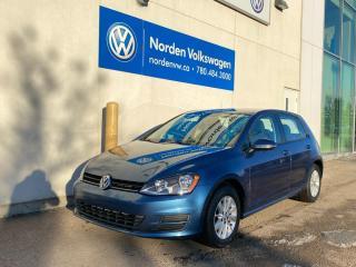 Used 2017 Volkswagen Golf TRENDLINE 5 DR AUTO - HEATED SEATS / CERTIFIED for sale in Edmonton, AB