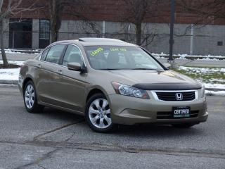Used 2010 Honda Accord LEATHER,EX-L,BACKUP SENSORS,LOADED,DEALER SERVICED for sale in Mississauga, ON