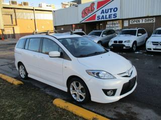 Used 2009 Mazda MAZDA5 GT  ~ LEATHER ~ NAV. ~ SAFETY INCLUDED for sale in Toronto, ON