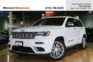 Used 2018 Jeep Grand Cherokee SUMMIT 4X4 - ACC|BSA|LKA|FCW|NAVI|BACKUP|PANO for sale in North York, ON