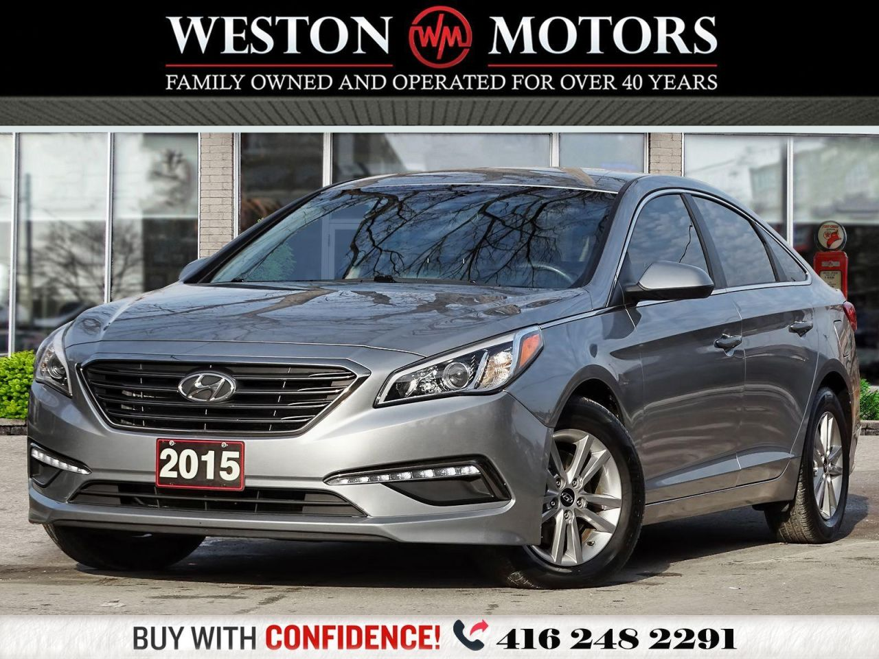 2015 Hyundai Sonata GL*2.4L*REVCAM*BLUETOOTH*HEATED SEATS!!*