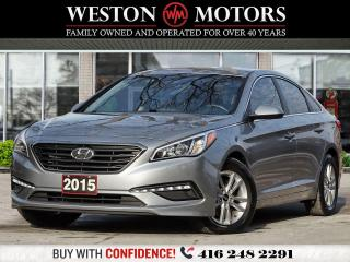 Used 2015 Hyundai Sonata GL*2.4L*REVCAM*BLUETOOTH*HEATED SEATS!!* for sale in Toronto, ON