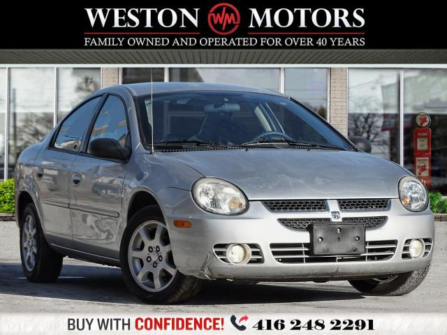 2004 Dodge Neon POWER GROUP*LOW KMS*SOLD AS IS!