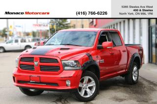 Used 2014 RAM 1500 SPORT - LEATHER|REMOTE START|BACKUP CAMERA for sale in North York, ON