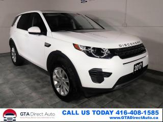 Used 2017 Land Rover Discovery Sport AWD Nav Panoroof Heated Bluetooth Certified for sale in Toronto, ON