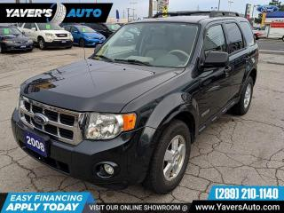 Used 2008 Ford Escape XLT 4WD Clean for sale in Hamilton, ON