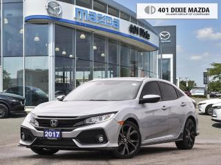 Used 2017 Honda Civic Hatchback Sport  ONE OWNER NO ACCIDENTS FINANCING AVAILABLE for sale in Mississauga, ON