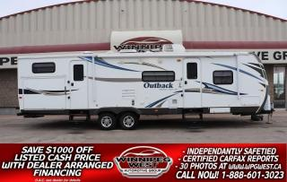 Used 2012 Keystone RV Outback 312BH BUNK HOUSE SLEEP 10, 2 KITCHEN, LOADED, NICE for sale in Headingley, MB