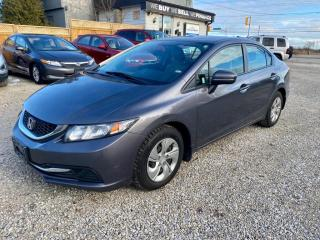 Used 2015 Honda Civic Sedan 4dr Auto LX, 1 owner, no accidents for sale in Halton Hills, ON