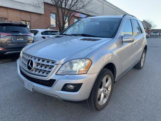 Used 2009 Mercedes-Benz ML-Class 4MATIC 4dr 3.5L for sale in North York, ON