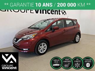 Used 2019 Nissan Versa NOTE SV ** GARANTIE 10 ANS ** Wow! Comme un neuf et à bas kilométrage! for sale in Shawinigan, QC