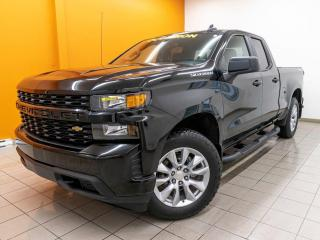Used 2020 Chevrolet Silverado 1500 CUSTOM 4X4 CAMÉRA RECUL *GR. REMORQUAGE* for sale in St-Jérôme, QC