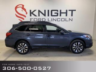 Used 2017 Subaru Outback 3.6R LIMITED W/TECH PKG for sale in Moose Jaw, SK