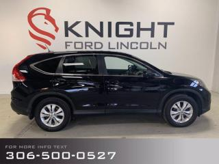 Used 2014 Honda CR-V Loaded EX-L, Heated Leather, Sunroof for sale in Moose Jaw, SK