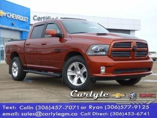 Used 2017 RAM 1500 Htd. Buckets, Sunroof, Tow for sale in Carlyle, SK