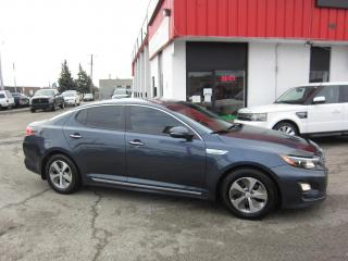 Used 2014 Kia Optima Hybrid LX $8,995+HST+LIC FEE / CLEAN CARFAX / CERTIFIED / HYBRID for sale in North York, ON